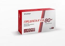 Предуктал ОД по цене от 762,00 рублей, купить в аптеках Тольятти, капс. с пролонг. высвоб. 80 мг №30 Триметазидин