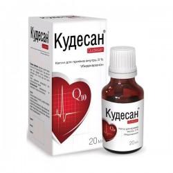 Кудесан по цене от 392,40 рублей, купить в аптеках Тольятти, капли д/приема внутрь 3  мл №1 флакон-капельница Убидекаренон